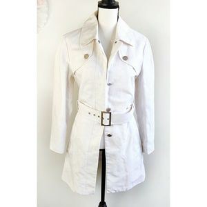 Ted Baker London White Jean Jacket